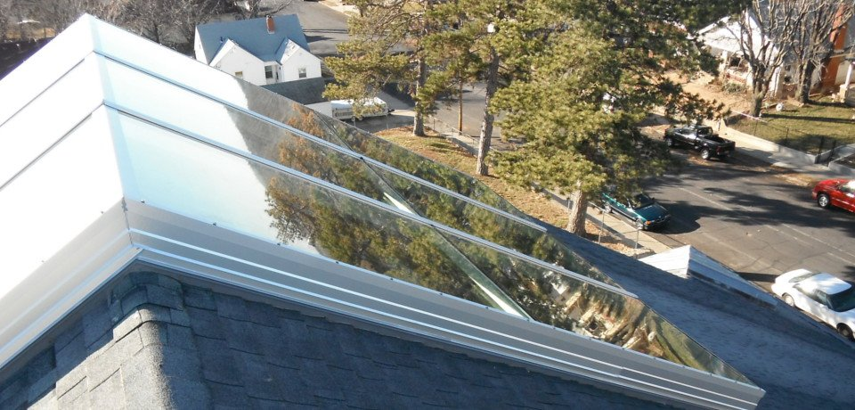 Insulated glass ridge skylight